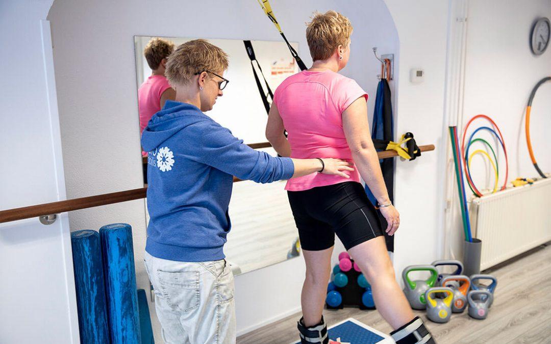 FysioMobilis fysiotherapie Zwartsluis trainingstherapie