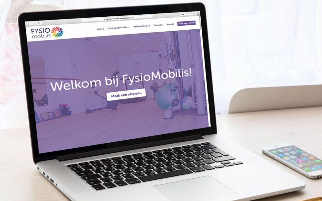 FysioMobilis fysiotherapie Zwartsluis website